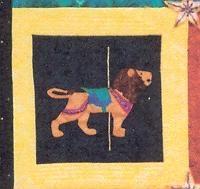 Carousel Critter Lion