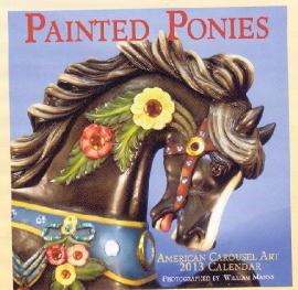 2013 Painted Ponies Carousel Calendar