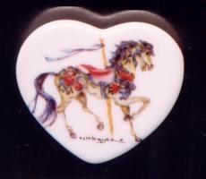 Heart Magnet Blue