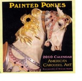 2010 Painted Ponies carousel calendar