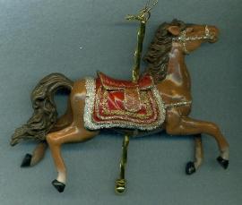 Adler Carousel Horse Ornament