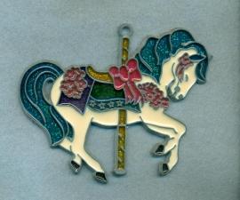 Carousel Horse Sun Catcher