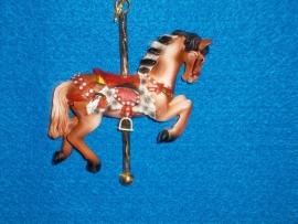 Adler Brown Horse Ornament