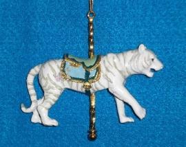 2015 Adler White Bengal Riger Ornament
