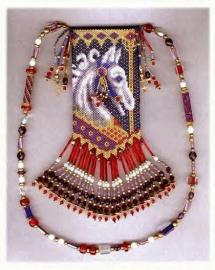 Carousel 1 Amulet bag pattern