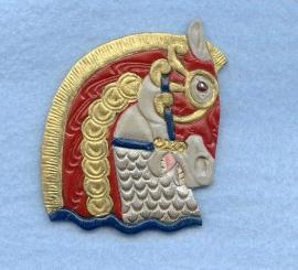 Stein Goldstein Armored Horse Head