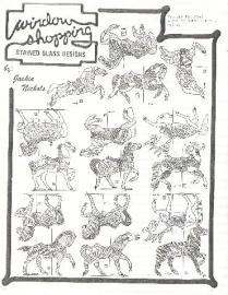 Carousel Horse Suncatchers