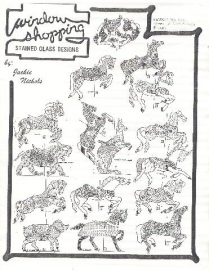 16 Carousel Animal & Horse Suncatchers