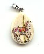 Small horse pendant